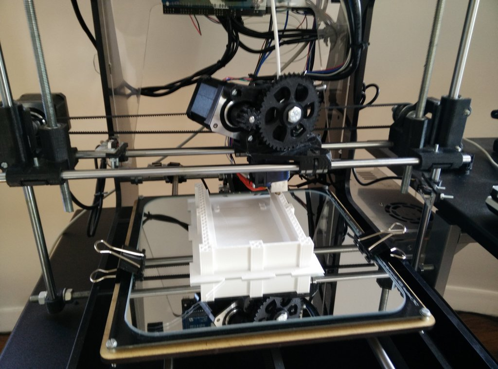 3D printing the NAS case
