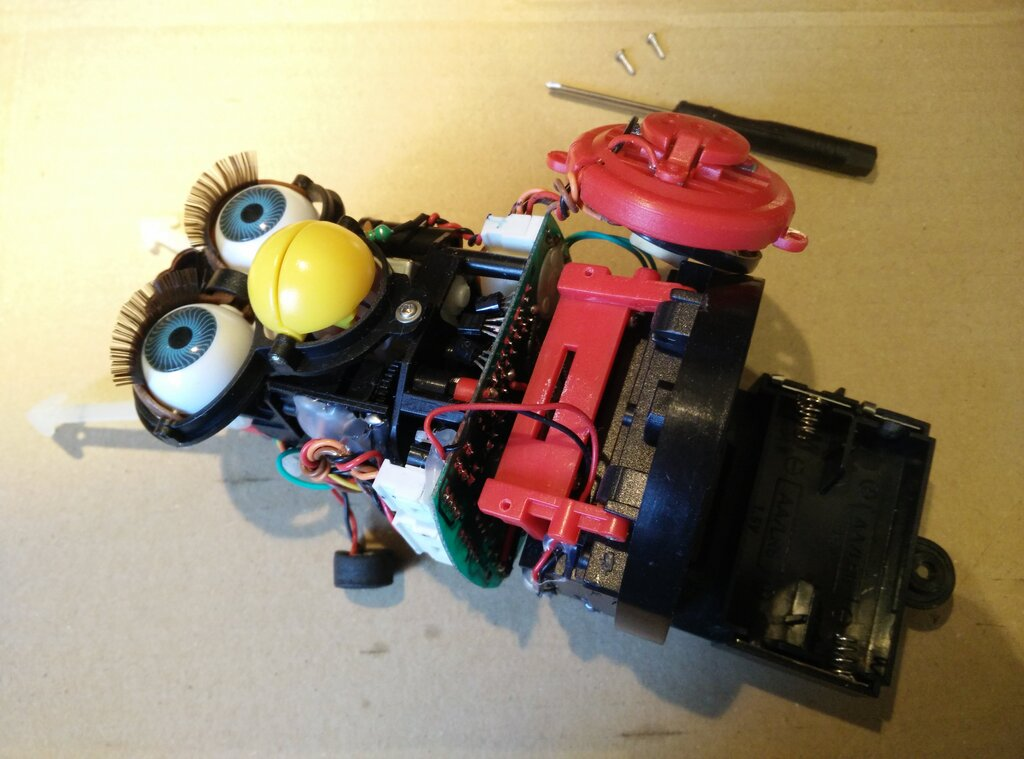 Removing the front speaker and touch sensor
