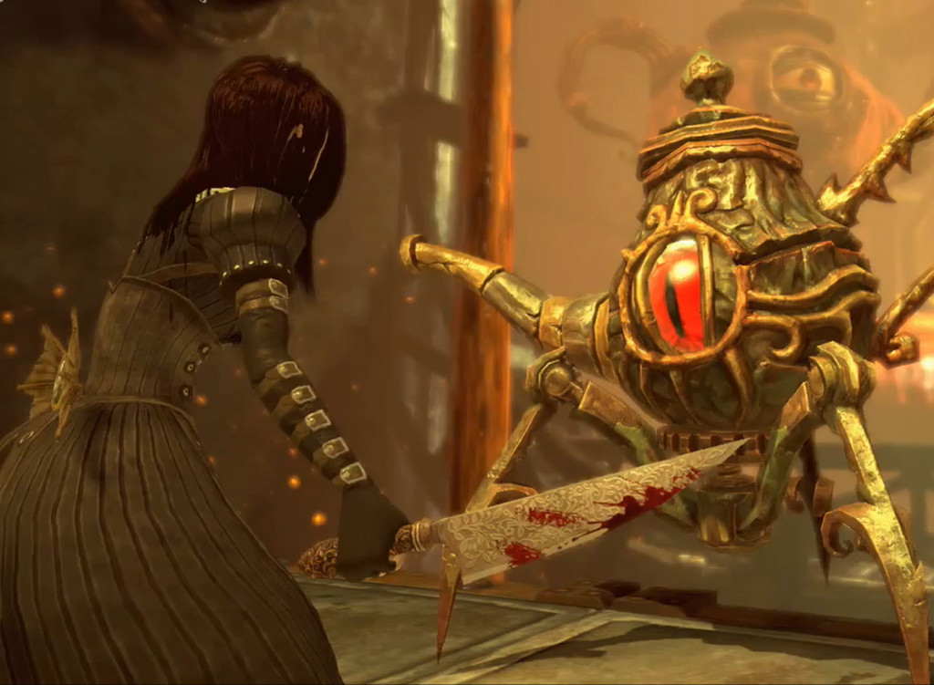 Screenshot from the videogame Alice: Madness Returns showing the Eyepot