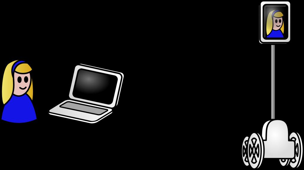 Schema of a telepresence robot